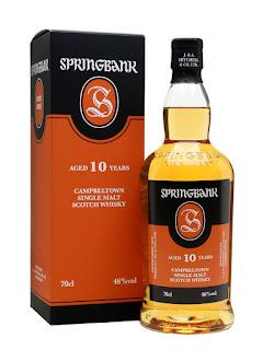 ten year old single malt scotch