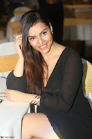 Kyra Dutta in black At Rogue Movie Audio Launch ~  080.JPG