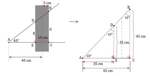 Semelhança de triângulo