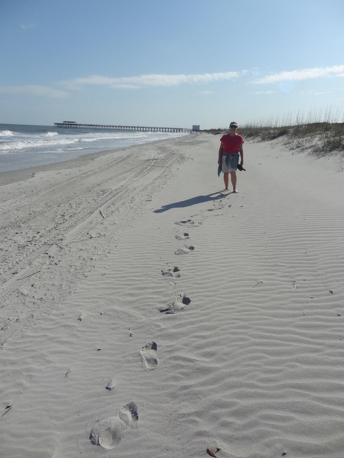 Liz On The Beach