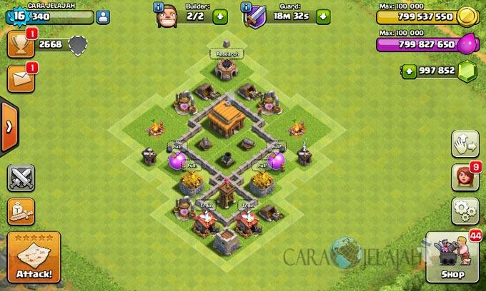 Desain Base Town Hall 3 Terbaik Dan Terbaru Clash Of Clans 31