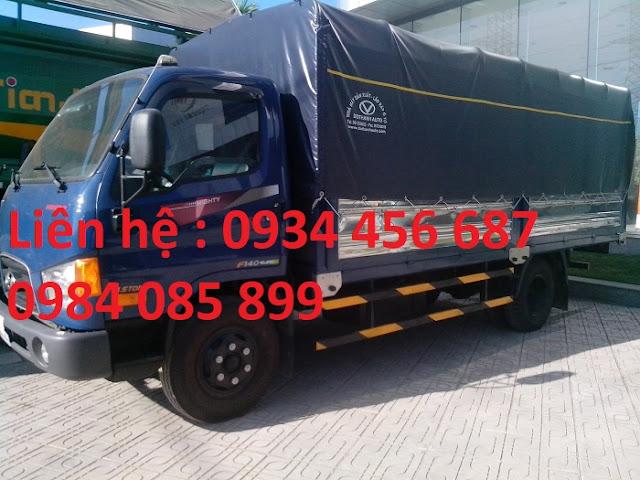 Xe tải New Mighty 110s thùng bạt