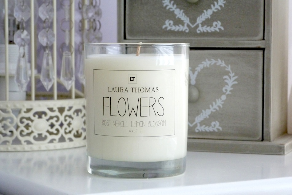 an image laura thomas flower candle review