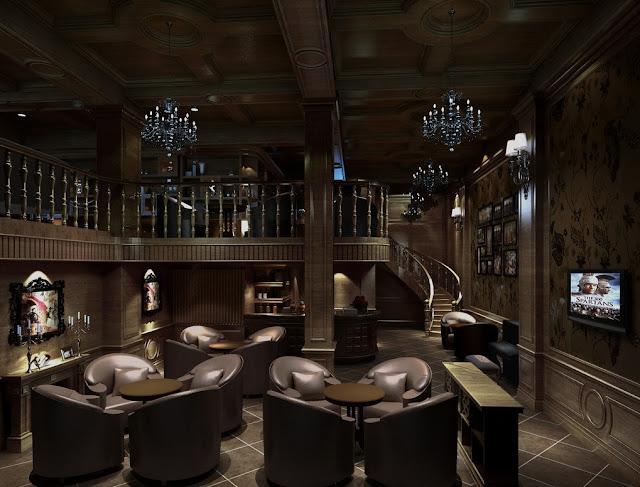 Desain Interior Apartemen Kantor Cafe