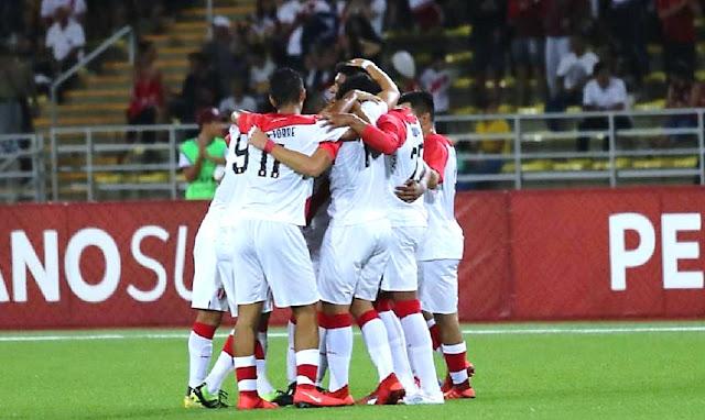 Selección peruana derrotó 3-1 a Bolivia por el Sudamericano Sub 17