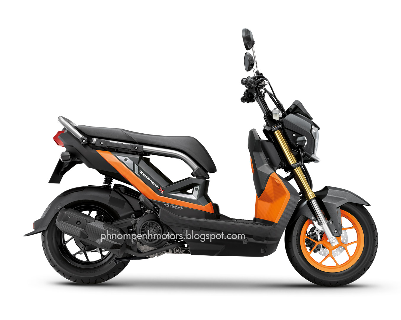 New Zoomer X 2017 Now Available In Phnom Penh Price 2000 2100 Price Updated Phnom Penh Motors
