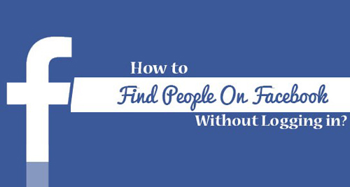 facebook search for people without logging on