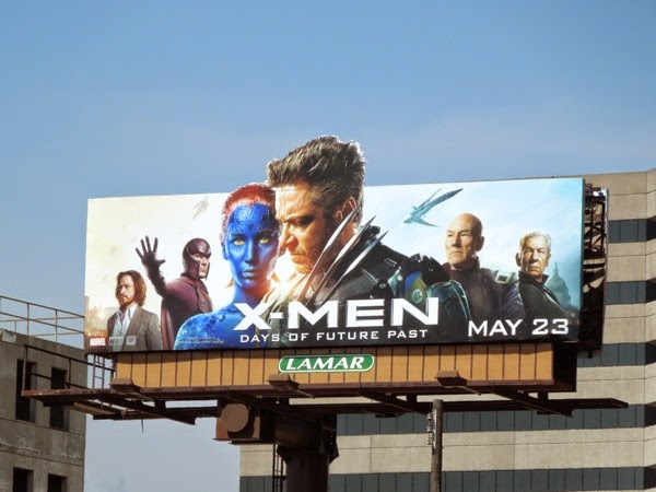 XMen Days of Future Past special extension billboard