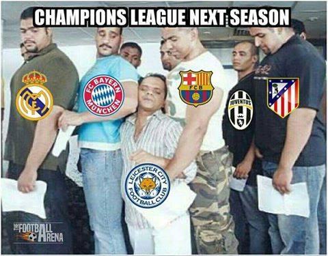 Gambaran Leicester City di Liga Champion Nanti