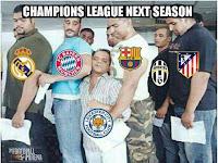 Nih Sob Gambaran Leicester City di Liga Champion Nanti