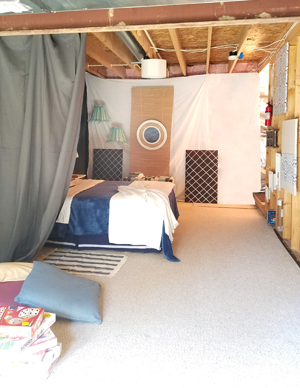 How To Create An Inexpensive Bedroom In An Unfinished Basement