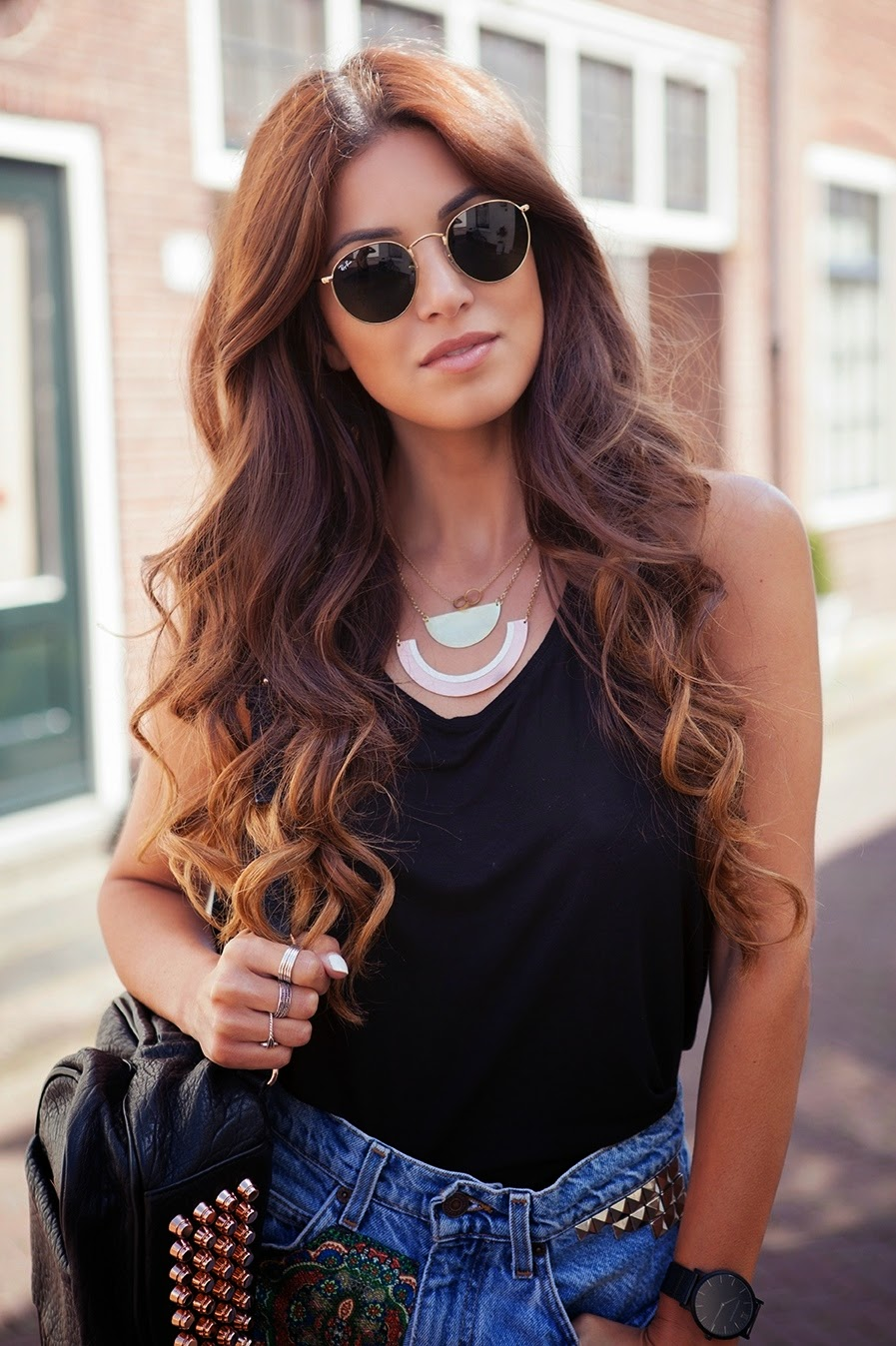 ray ban classic metal round sunglasses  designer spotlight: round ray ban sunglasses