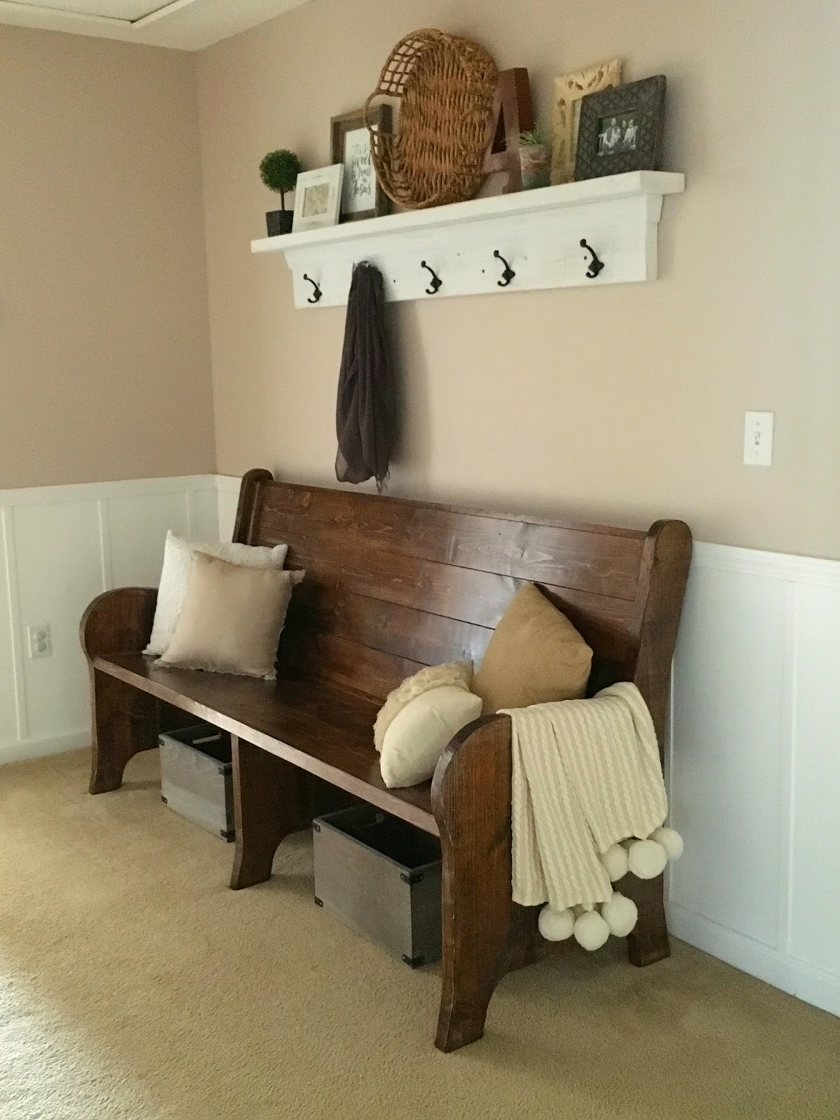 Church Foyer Furniture : Live a little wilder my very own church pew