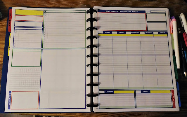 an undated planner system