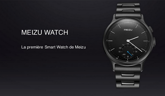 Meizu Watch - Une smartwatch intelligente dotée du minimum vital pour iOS et Android