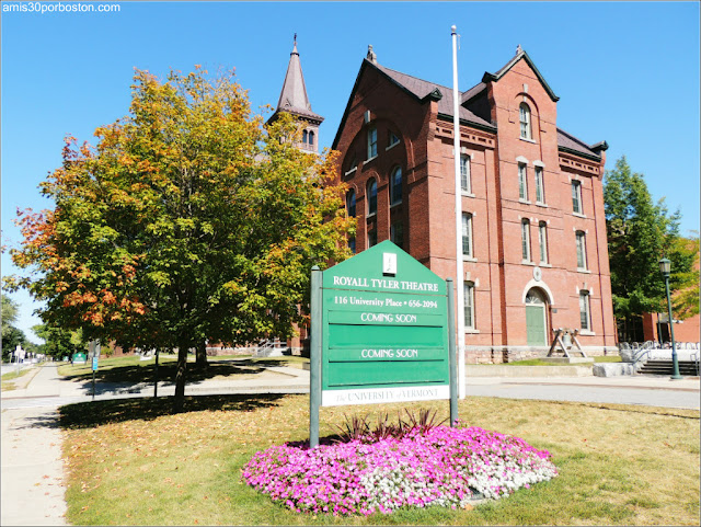 Universidad de Vermont en Burlington