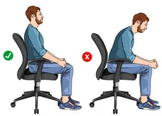 Duduk dengan Benar