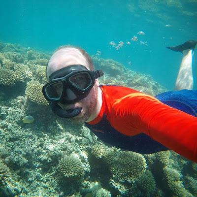 Snorkeling at Blue Bay
