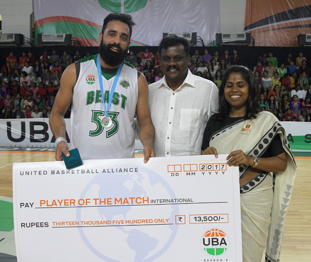 Vishesh's 57 leads Bengaluru Beast to semi-finals over Hyderabad Sky in South Division play-in game