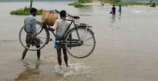 آسام میں شدید بارش ' سیلاب کی صورتحال
