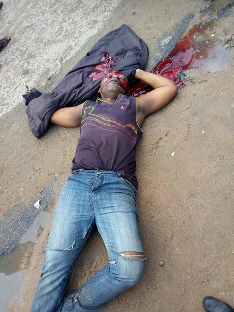 Graphic: Police shoot dead three armed robbers terrorising Ikot Ekpene, Akwa Ibom
