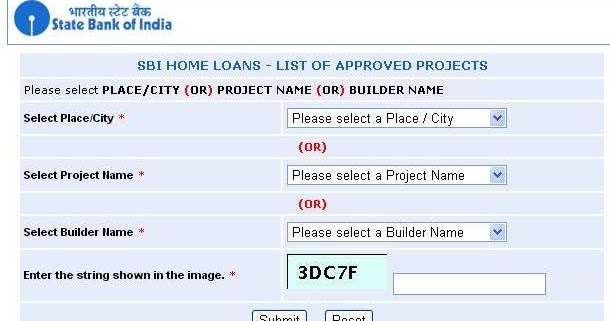 SBI HOME LOANS - LIST OF APPROVED PROJECTS - Chennai ~ Real Estate, Share Market, Mutual Fund ...