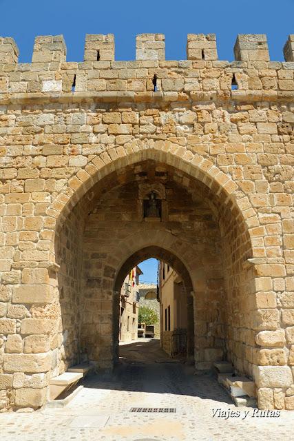 Puerta de las Eras, Monteagudo de las Vicarías