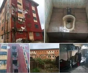 Facebook Man Shares Pictures Of The Deplorable State Of Okija Hostel, Madonna University.