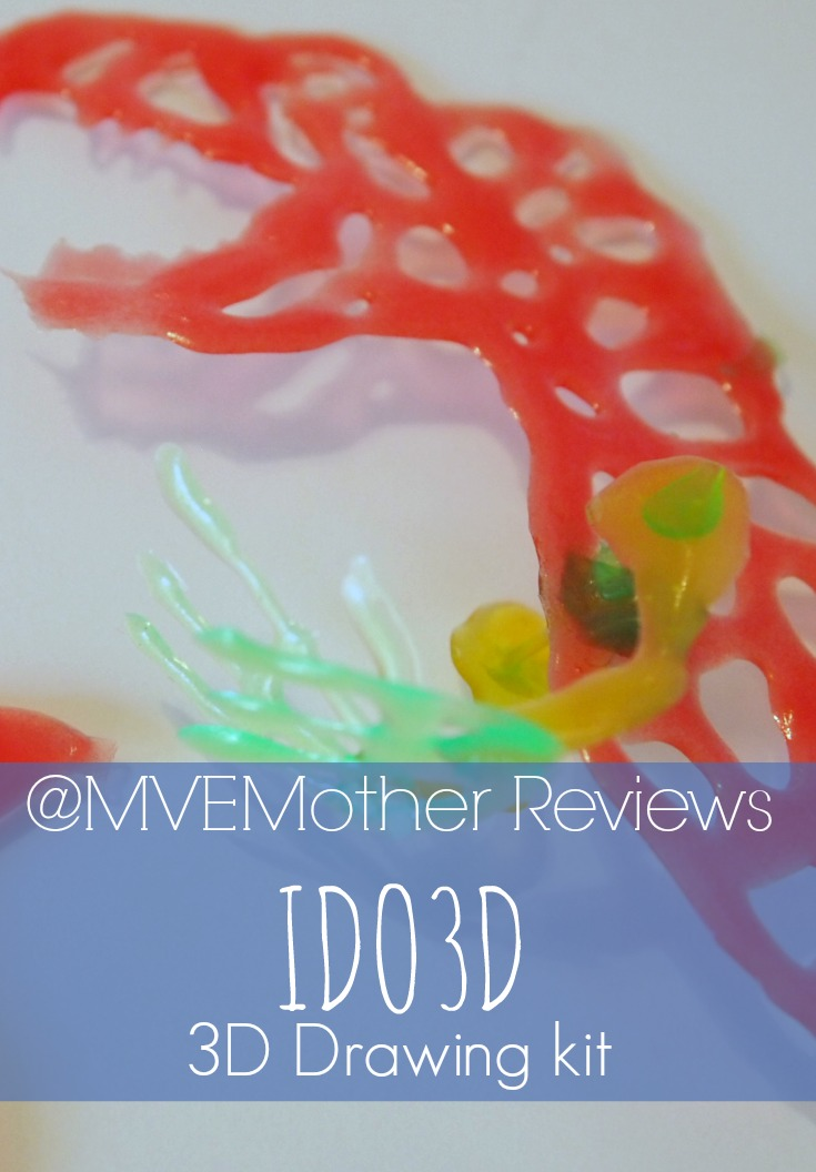 3D Drawing Kit Review - Ultimately this one got a thumbs up, despite the longer drying time.