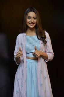Rakul Preet Singh At Dev Movie Promotions