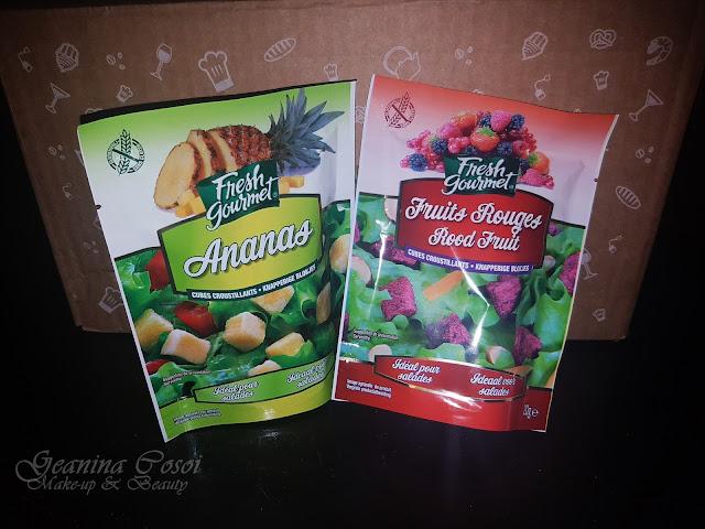 Fresh Gourmet fruta liofilizada Degustabox Junio´17 ¡VERANO!