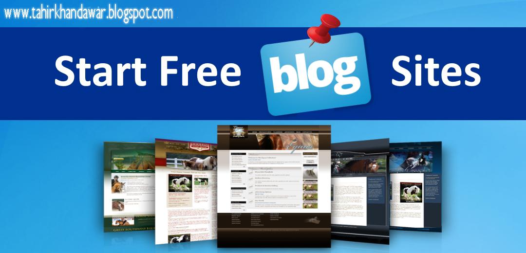 Start Free Blog Sites