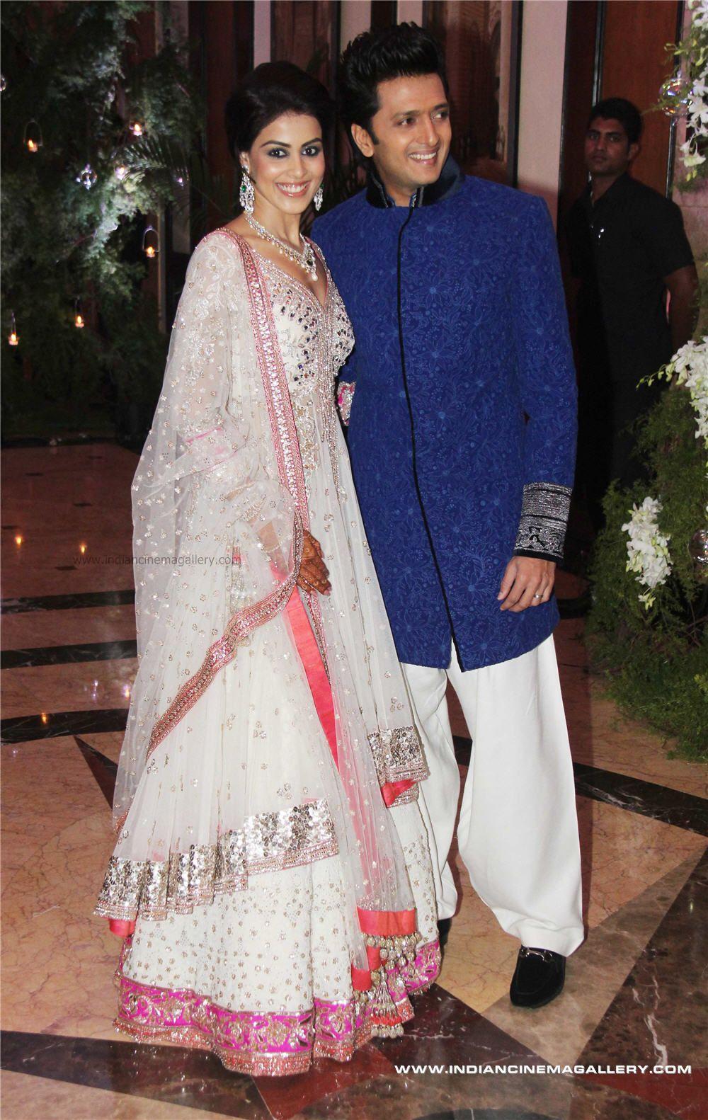 kochunda: Genelia D'Souza marriage photos