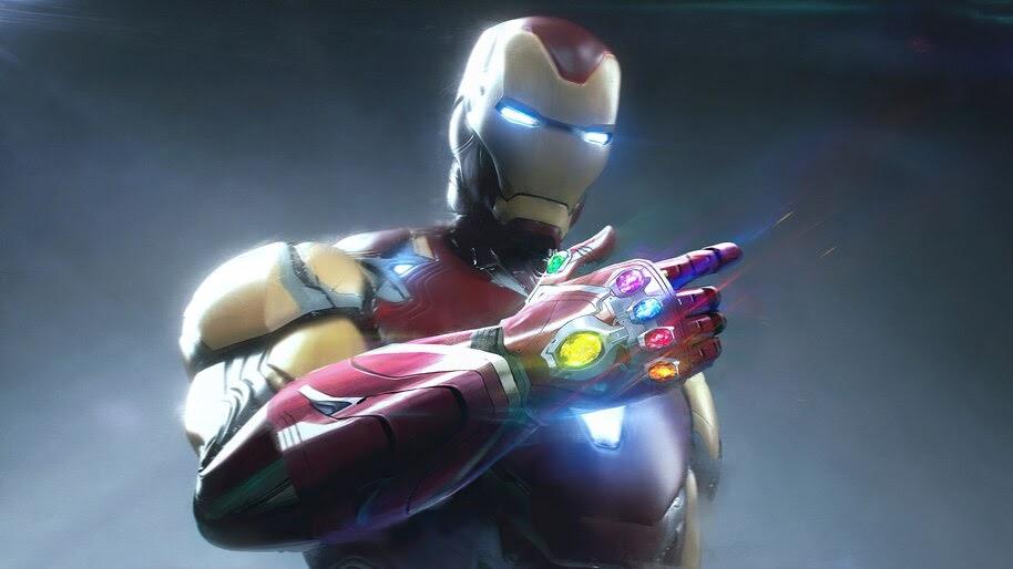 Iron Man, Infinity Stones, Marvel, Superhero, 4K, #6.1323