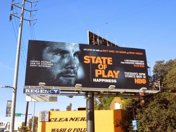 State of Play Happiness HBO Sports billboard