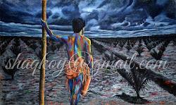 confession background shaq palm title oil