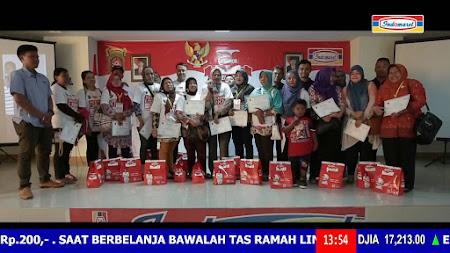 Frekuensi siaran Indomaret TV di satelit Palapa D Terbaru