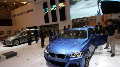 Ilustrasi mobil Eropa pada Gaikindo Indonesia International Auto Show 2015 di Indonesia Convention Exhibition (ICE) BSD, Tangerang, Banten, Kamis (20/8/2015). Foto : Tribunnews.