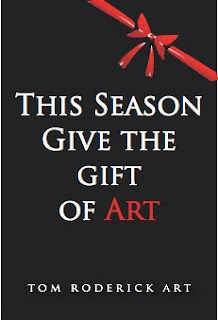 This Season give the gift of art by Boulder artist Tom Roderick