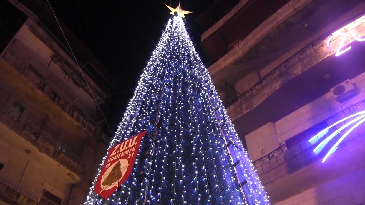 Syrians Peacefully Celebrated Christmas In Aleppo (Video)