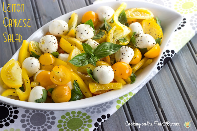 Lemon Caprese Salad