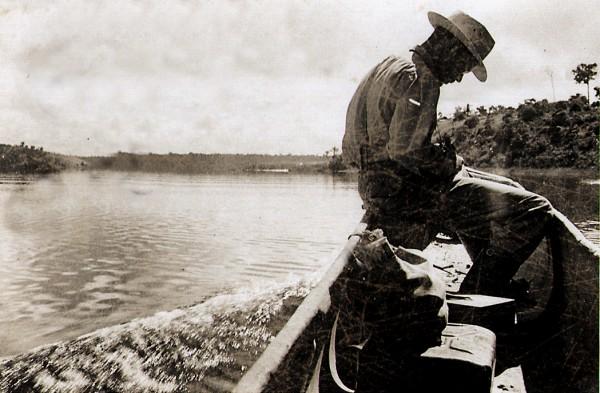 Viagem de reconhecimento próximo a Linhares. Abril de 1950.