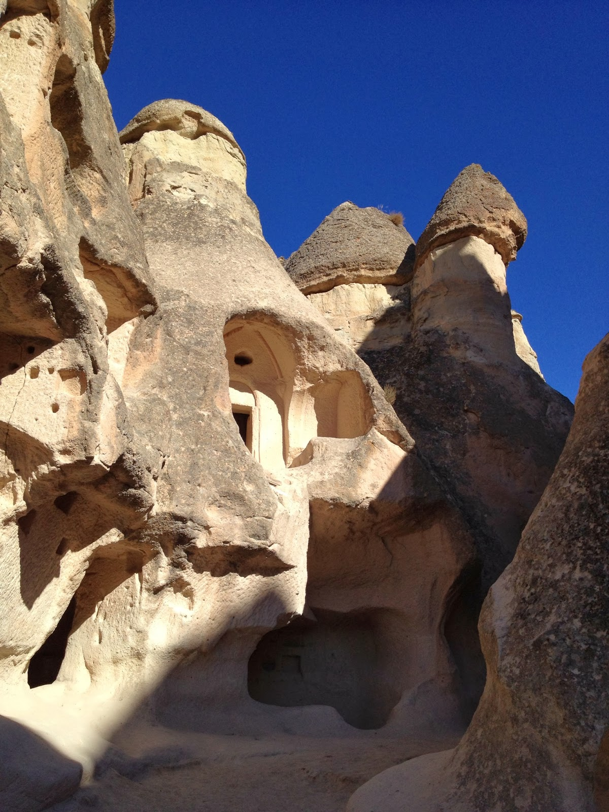 Cappadocia - Neighboring Fairy Chimneys