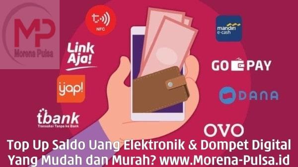 MorenaPulsa.net CV Jasa Payment Solution Top Up Saldo Uang Elektronik Dompet Digital Mudah dan Murah
