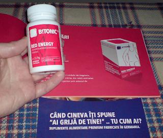 Comanda de aici Red Energy- supliment cu minerale si vitamine pentru rezistenta la stres si oboseala