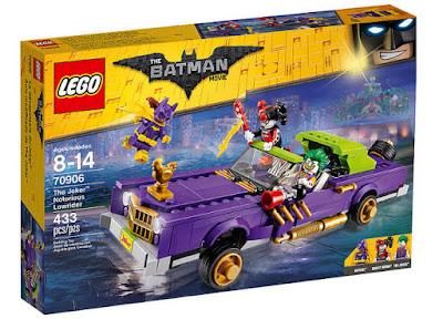 JUGUETES - LEGO Batman La Película  70906 Coche modificado de El Joker  Producto Oficial | Piezas: 433 | Edad: 8-14 años  Comprar en Amazon España