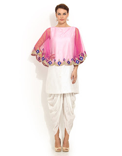 Cape Suit With a Dhoti