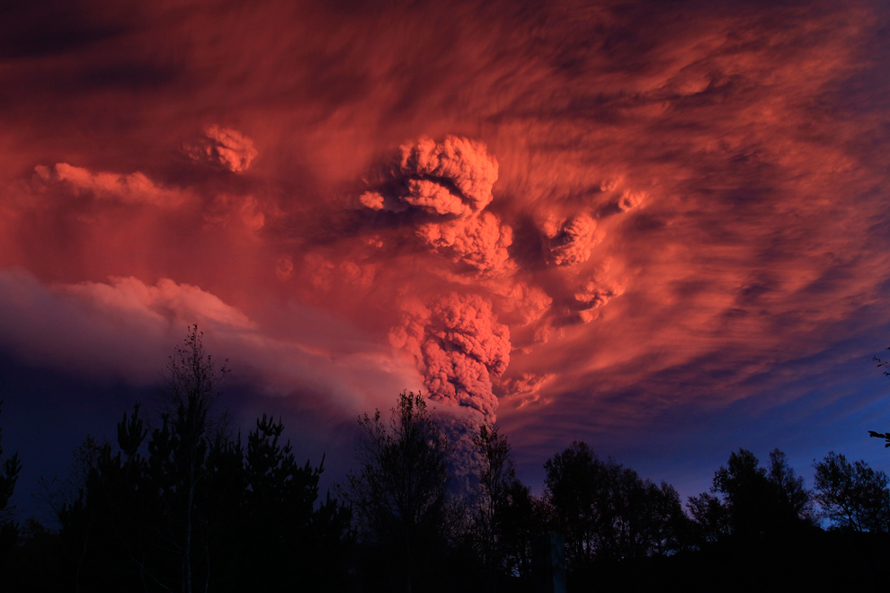 Puyehue Cordon Caulle Volcano Eruption