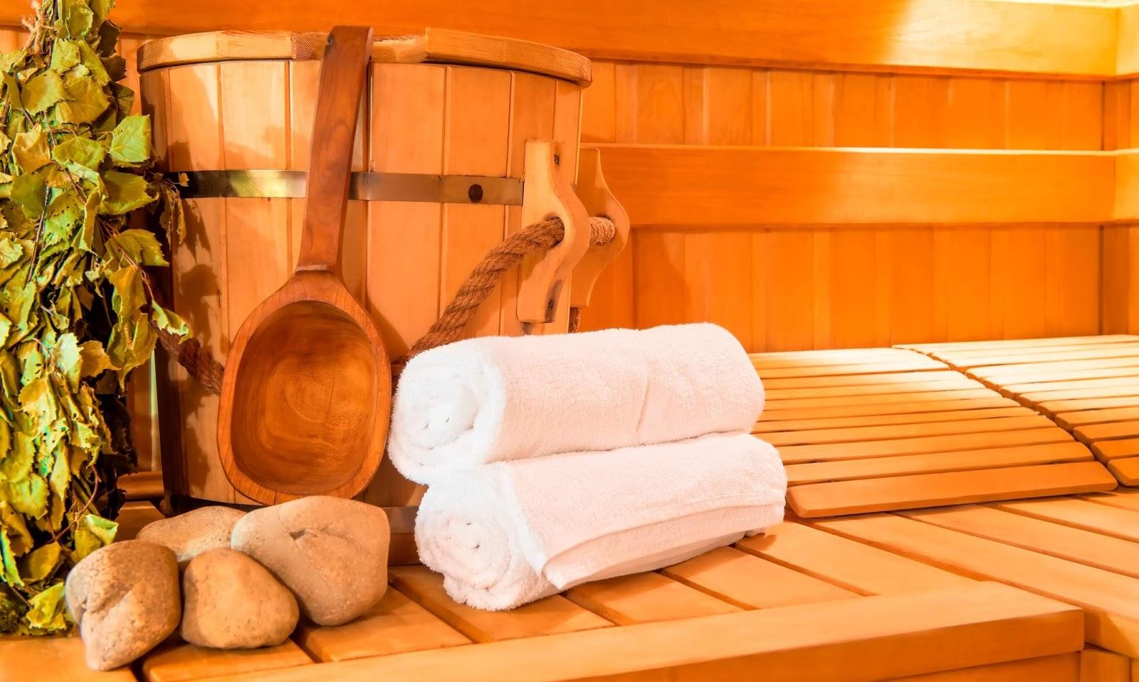Un bain de vapeur sèche aux nombreux bienfaits