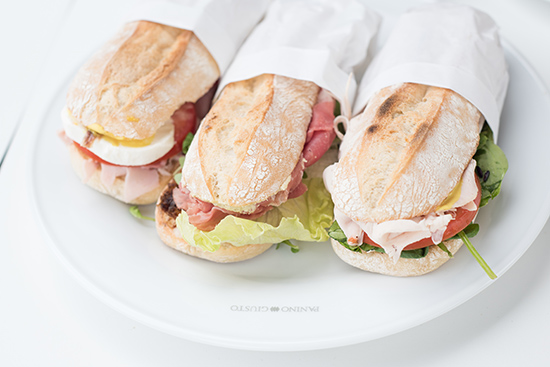 Panino Giusto Restaurant Panini Lunch Food Review